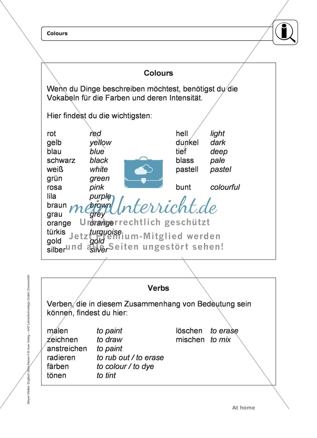 Ausgezeichnet Vokabular Im Zusammenhang Arbeitsblatt Galerie - Super ...