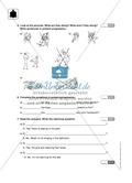 Klassenarbeit present progressive - schwer (1) - mit Lösungen Preview 2