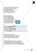 Klassenarbeit present progressive - schwer (1) - mit Lösungen Preview 3