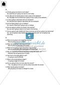 Klassenarbeit going-to-future - schwer (1) - mit Lösungen Preview 4