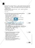 Klassenarbeit pronouns and question words - schwer (2) - mit Lösungen Preview 2