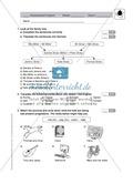 Klassenarbeit At home - einfach (1) - mit Lösungen Preview 1