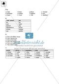 Klassenarbeit At home - einfach (1) - mit Lösungen Preview 4
