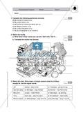 Klassenarbeit At home - einfach (2) - mit Lösungen Preview 1