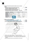 Klassenarbeit At home - schwer (1) - mit Lösungen Preview 2