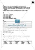 Klassenarbeit At home - schwer (1) - mit Lösungen Preview 6