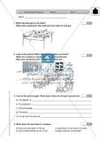 Klassenarbeit At school - schwer (1) - mit Lösungen Preview 1