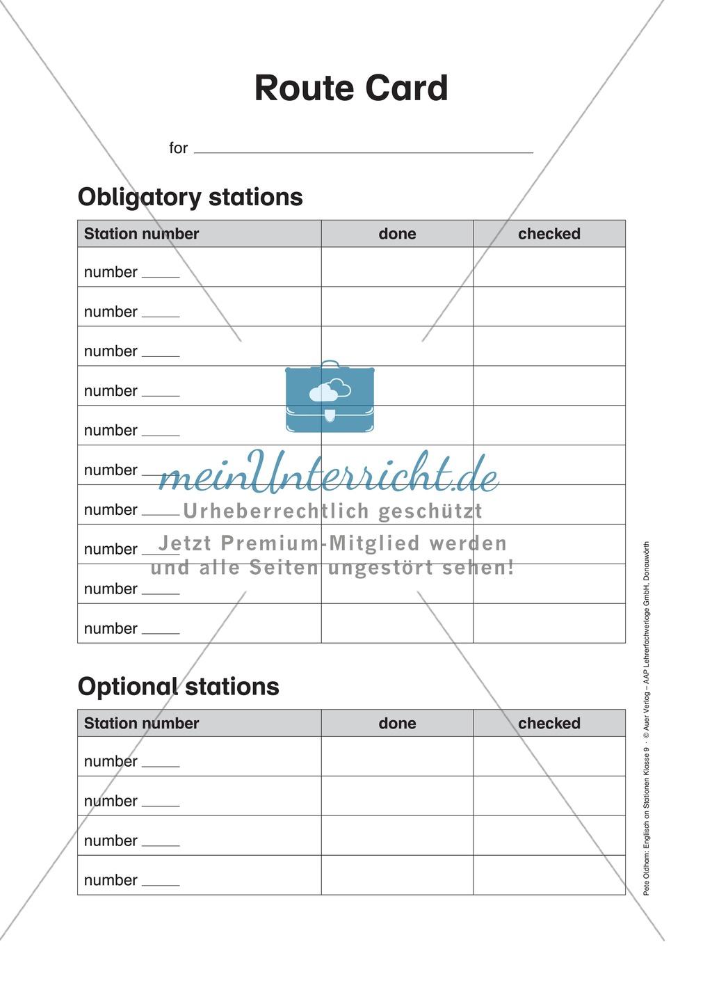 Stationenlernen in der 9. Klasse: Mediation and translation Preview 1