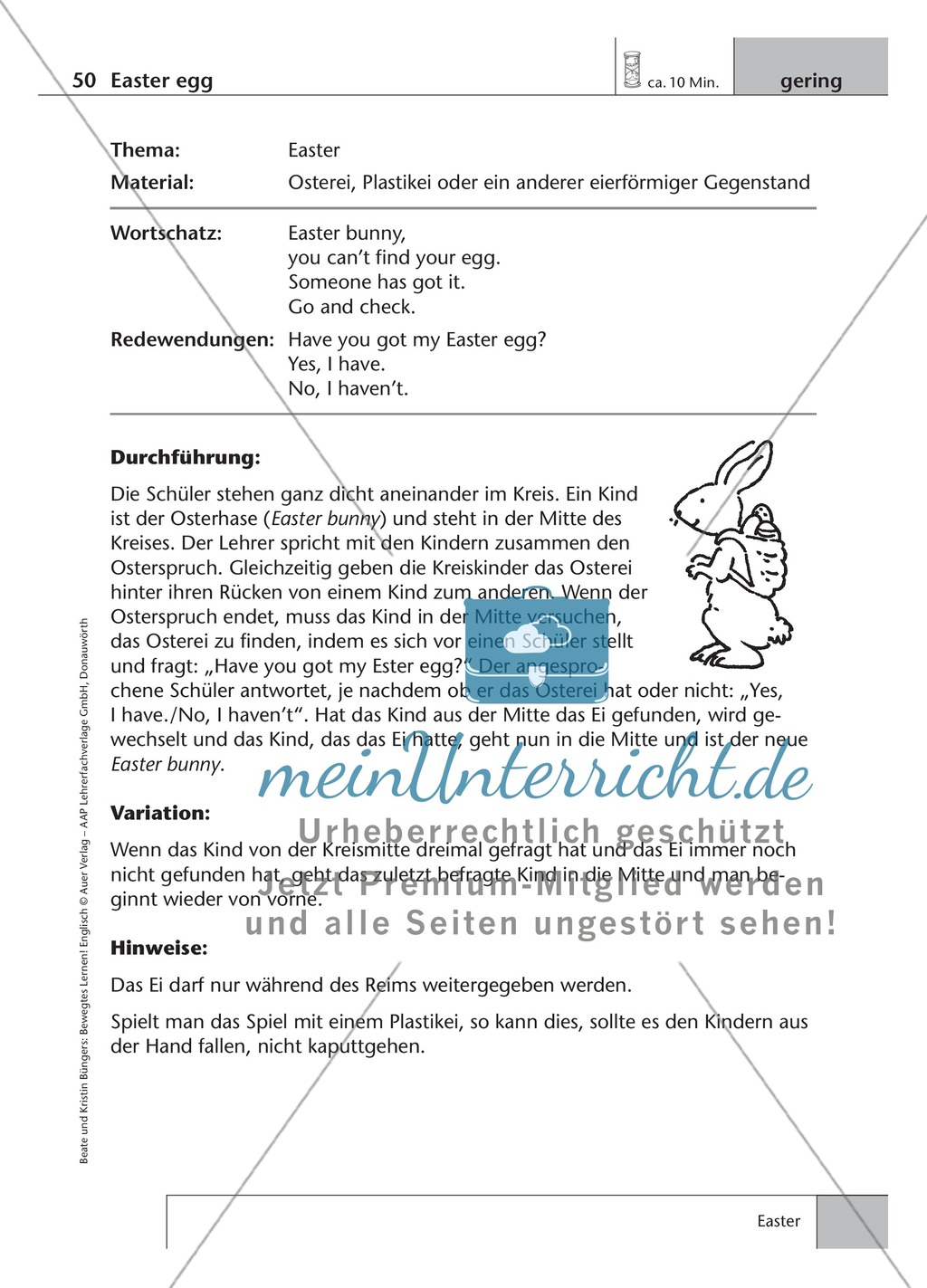 Englisch lernen mit Bewegung: Exercises on the topics: seasons + weather + special holidays + time + prepositions Preview 16