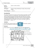 Englisch lernen mit Bewegung: Exercises on the topics: seasons + weather + special holidays + time + prepositions Preview 3