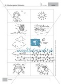 Englisch lernen mit Bewegung: Exercises on the topics: seasons + weather + special holidays + time + prepositions Preview 6