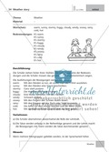 Englisch lernen mit Bewegung: Exercises on the topics: seasons + weather + special holidays + time + prepositions Preview 7