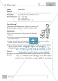 Englisch lernen mit Bewegung: Exercises on the topics: seasons + weather + special holidays + time + prepositions Preview 8
