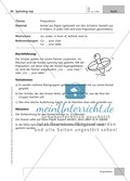 Englisch lernen mit Bewegung: Exercises on the topics: seasons + weather + special holidays + time + prepositions Preview 9