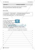 Exercises simple past + Lösungen Preview 2