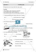 Exercises simple past + Lösungen Preview 4