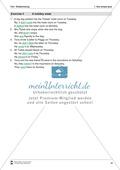 Exercises simple past + Lösungen Preview 6