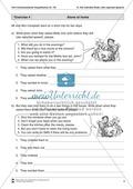 Exercises reported speech + Lösungen Preview 4