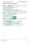 Exercises Infinitiv nach bestimmten Verben + Lösungen Preview 3