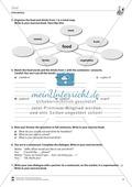 Vertretungsstunde Wortschatz: Exercises on Food + Lösungen Preview 2