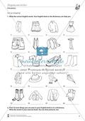 Vertretungsstunde Wortschatz: Exercises on Shopping and Clothes + Lösungen Preview 1