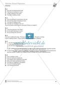 Vertretungsstunde Grammatik: Exercises on present progressive + Lösungen Preview 3