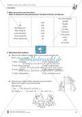 Vertretungsstunde Wortschatz: Exercises Hobbies + Lösungen Preview 2