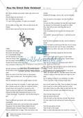 How the Grinch Stole Christmas: story and text comprehension questions Preview 2