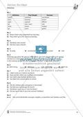 Vertretungsstunde Wortschatz: Exercises on Past Simple + Lösungen Preview 3
