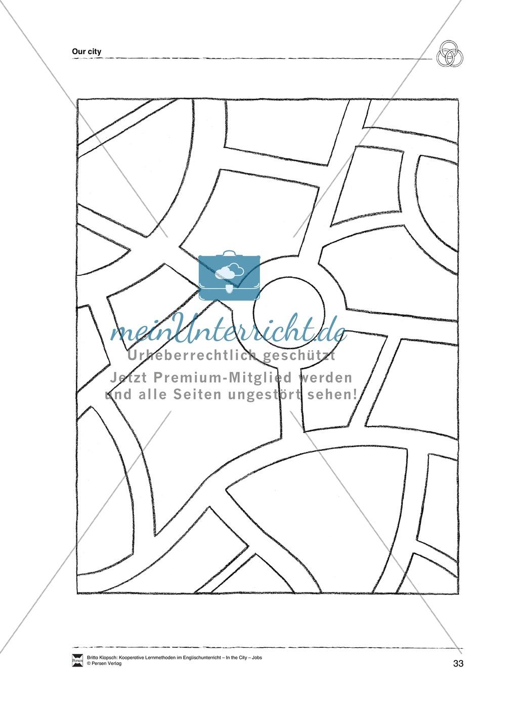 Themenbereich In the City: Vorgehensweise + Kopiervorlagen Preview 22