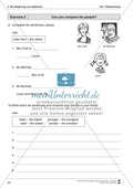 Grundwissen Steigerung von Adjektiven: Erklärung, Übungen und Lösungen Thumbnail 3
