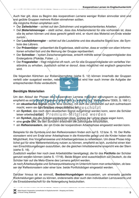 Kooperatives Lernen im Englischunterricht: Grundlagen + Ziele Preview 4
