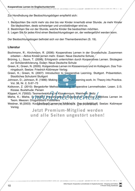 Kooperatives Lernen im Englischunterricht: Grundlagen + Ziele Preview 5
