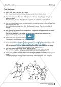 Englisch, Kompetenzen, Literatur, Grammatik, Kommunikative Fertigkeiten, Methodische Kompetenzen, Literaturvermittlung, Grammar, Zeiten / tenses, Lesen / reading, Textrezeption, pre-, while-, post-reading activities, Leseverstehen, reading comprehension, simple present