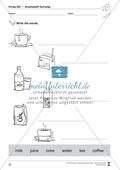 Drinks vocabulary: Worksheets on drinks (Binnendifferenziert) Preview 8