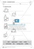 Drinks vocabulary: Worksheets on drinks (Binnendifferenziert) Thumbnail 8