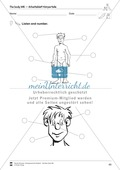 The body vocabulary: Worksheets on the body (Binnendifferenziert) Preview 11