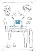 The body vocabulary: Worksheets on the body (Binnendifferenziert) Preview 6