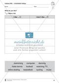 Hobbies vocabulary: Worksheets on hobbies (Binnendifferenziert) Preview 10