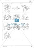 Hobbies vocabulary: Worksheets on hobbies (Binnendifferenziert) Preview 4