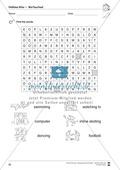 Hobbies vocabulary: Worksheets on hobbies (Binnendifferenziert) Preview 7