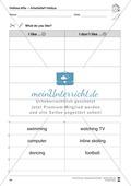 Hobbies vocabulary: Worksheets on hobbies (Binnendifferenziert) Preview 9