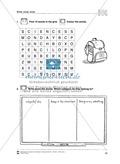 Kreuzworträtsel und Wortsuchrätsel zum Themenbereich