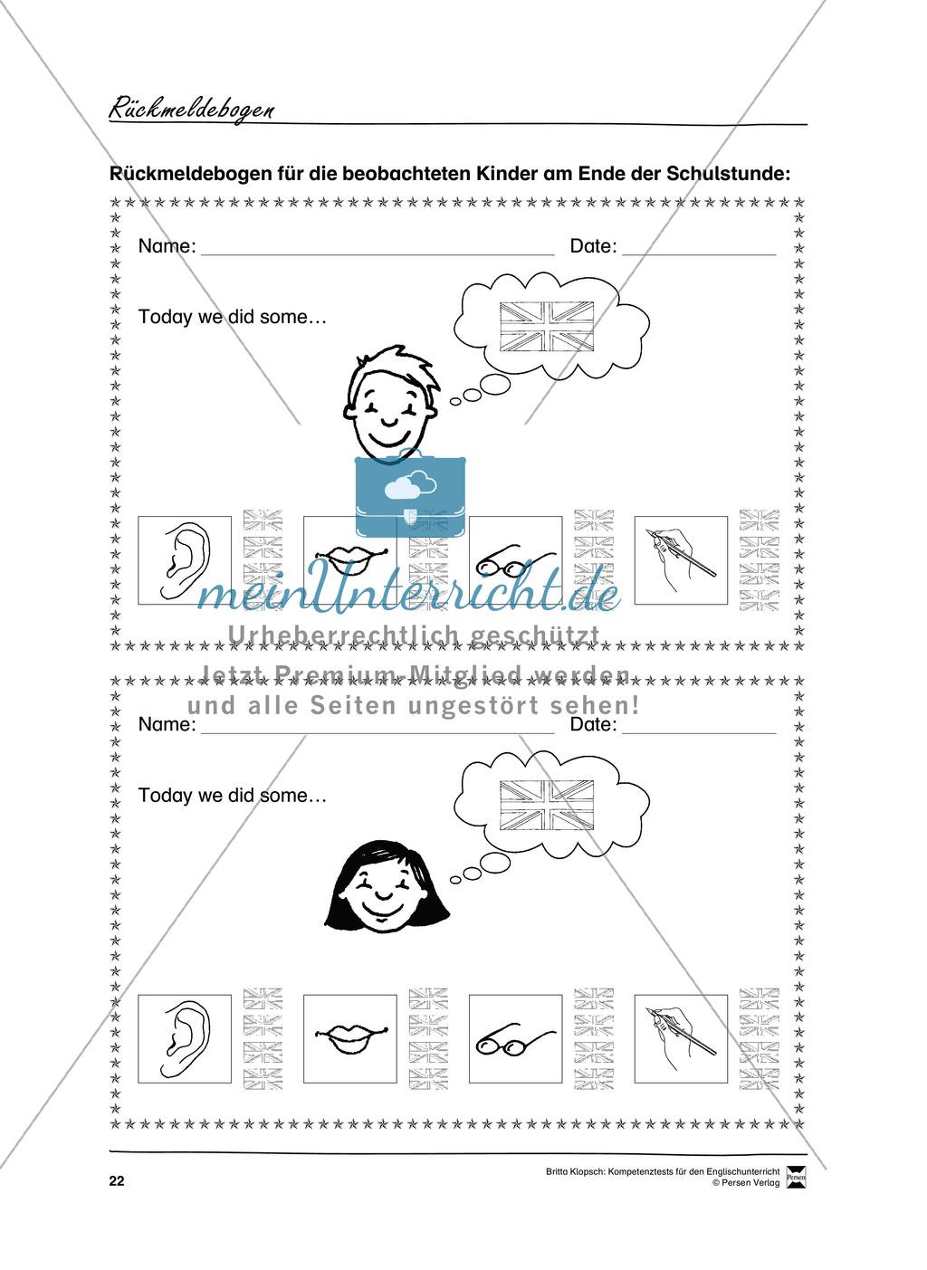 Die praktische Umsetzung - Kompetenzüberprüfung durch Beobachtung: Vorgehensweise + Beobachtungsbögen Preview 10
