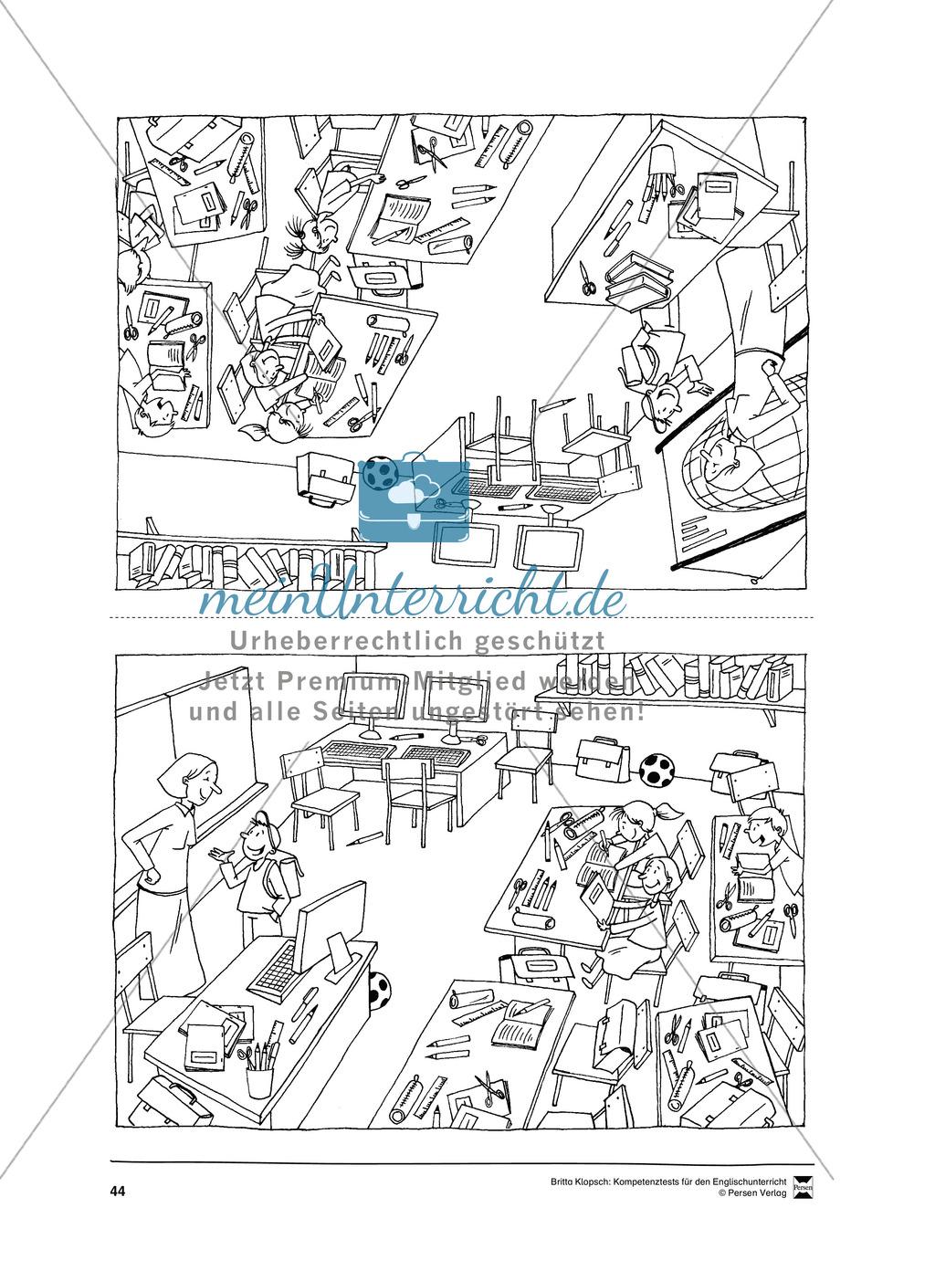 Kompetenzüberprüfung durch Beobachtung: Sprachliche Mittel in Partner- und Gruppenarbeit: Erklärung + Kopiervorlagen Preview 13