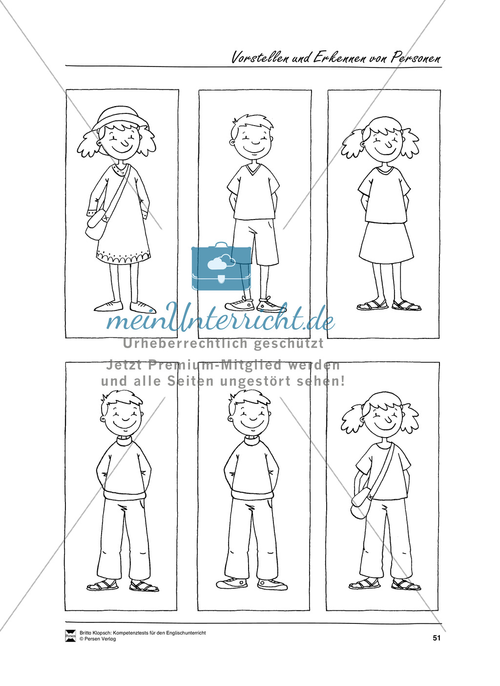Kompetenzüberprüfung durch Beobachtung: Sprachliche Mittel in Partner- und Gruppenarbeit: Erklärung + Kopiervorlagen Preview 20