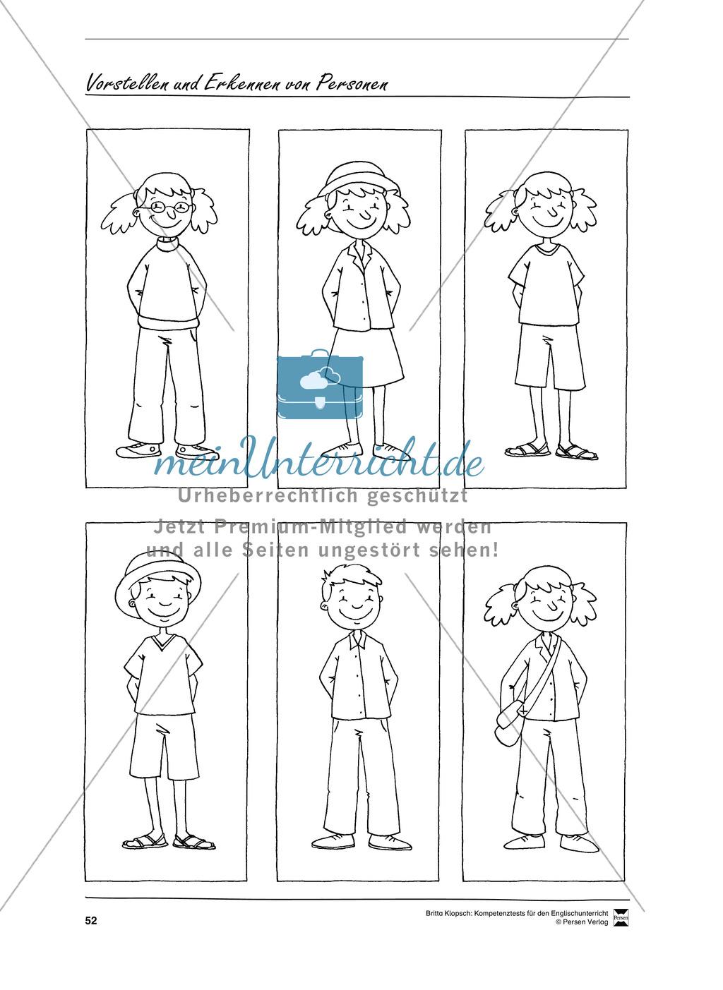 Kompetenzüberprüfung durch Beobachtung: Sprachliche Mittel in Partner- und Gruppenarbeit: Erklärung + Kopiervorlagen Preview 21