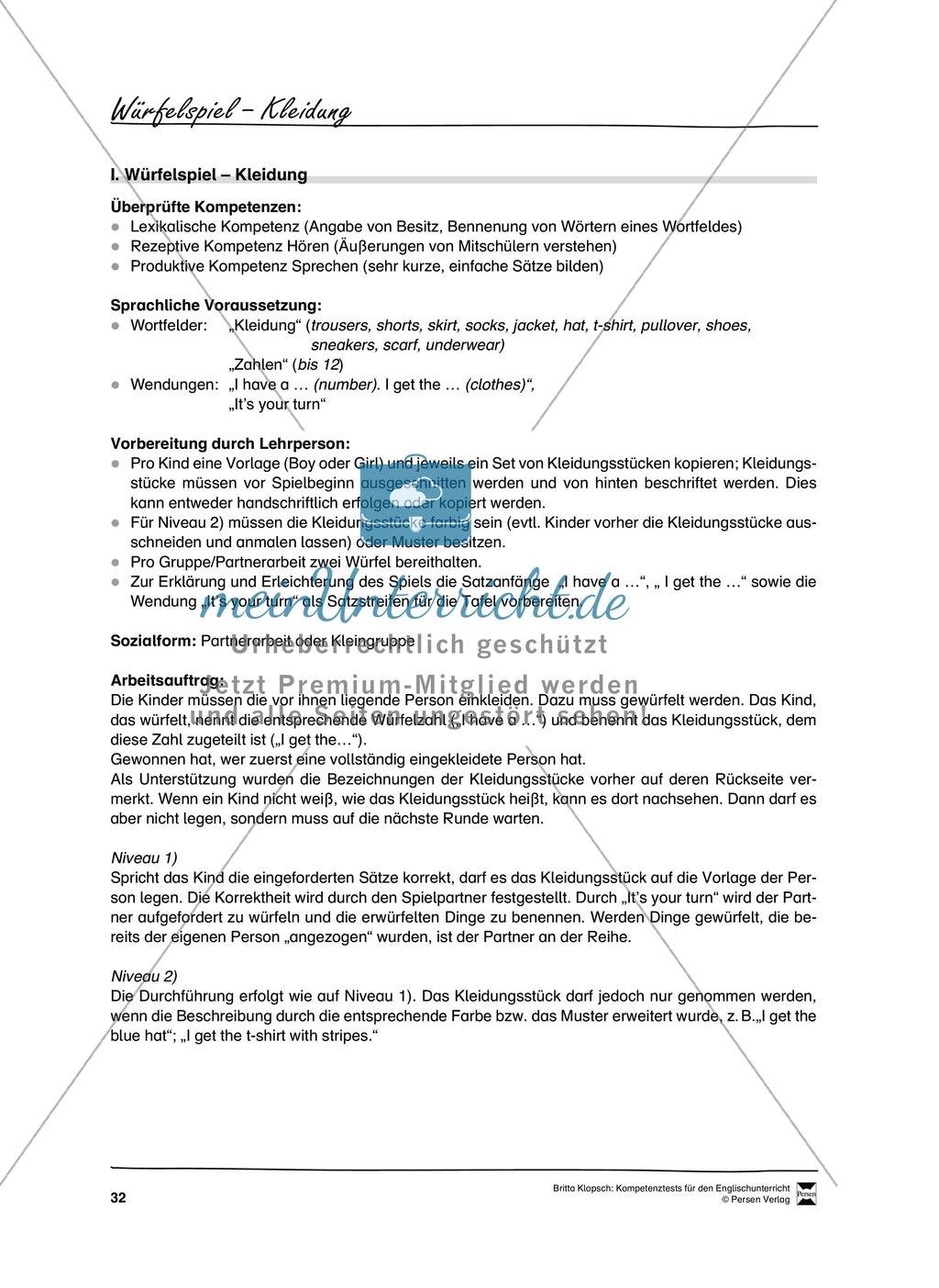 Kompetenzüberprüfung durch Beobachtung: Sprachliche Mittel in Partner- und Gruppenarbeit: Erklärung + Kopiervorlagen Preview 1