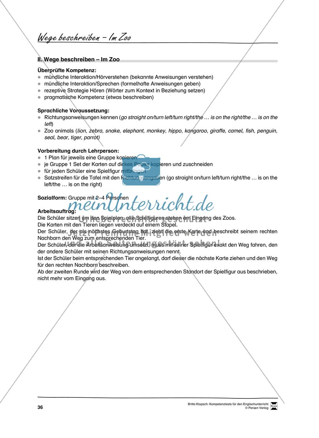 Kompetenzüberprüfung durch Beobachtung: Sprachliche Mittel in Partner- und Gruppenarbeit: Erklärung + Kopiervorlagen Preview 5