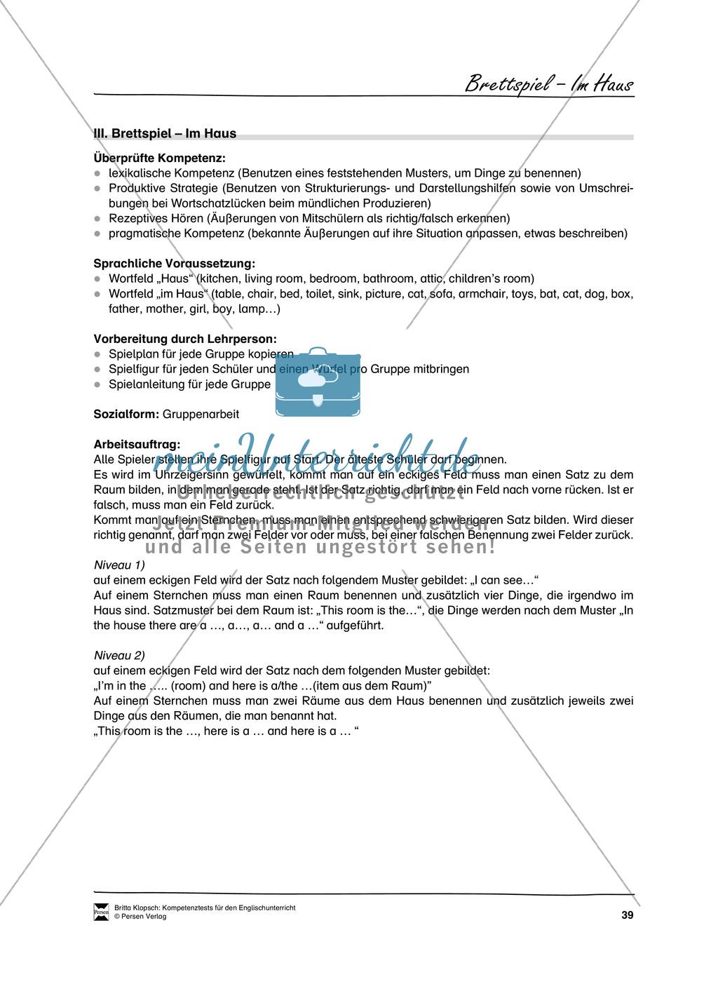 Kompetenzüberprüfung durch Beobachtung: Sprachliche Mittel in Partner- und Gruppenarbeit: Erklärung + Kopiervorlagen Preview 8